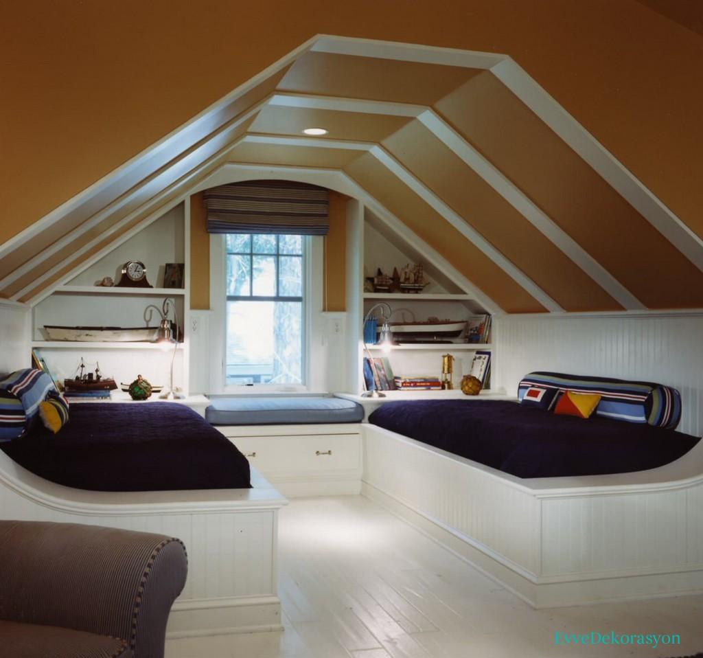 İlginç çatı tasarımı