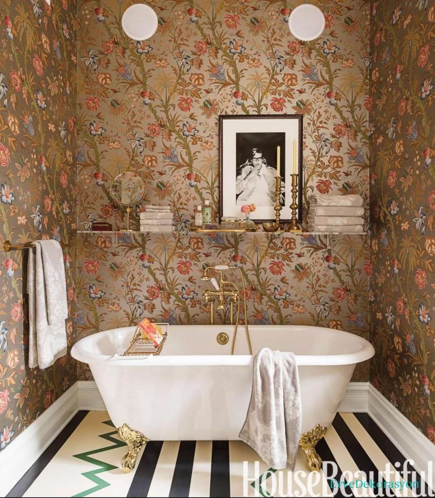 Banyo İçin Duvar Kağıdı Önerileri
