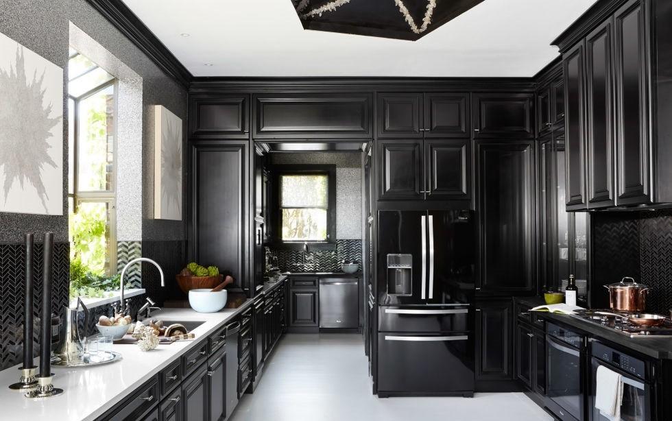 Siyah Renk Mutfak Modelleri