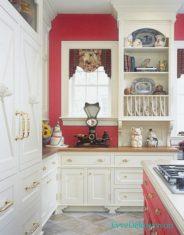 Kırmızı mutfak modeli 2017