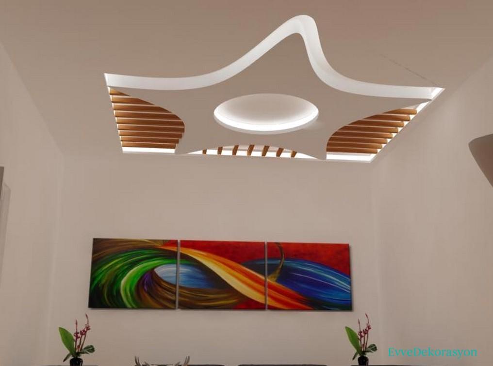 Alçıpan tavan tasarımları
