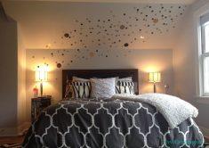 Yatak odası için abajur stilleri