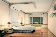 Yatak odası asma tavan örnekleri