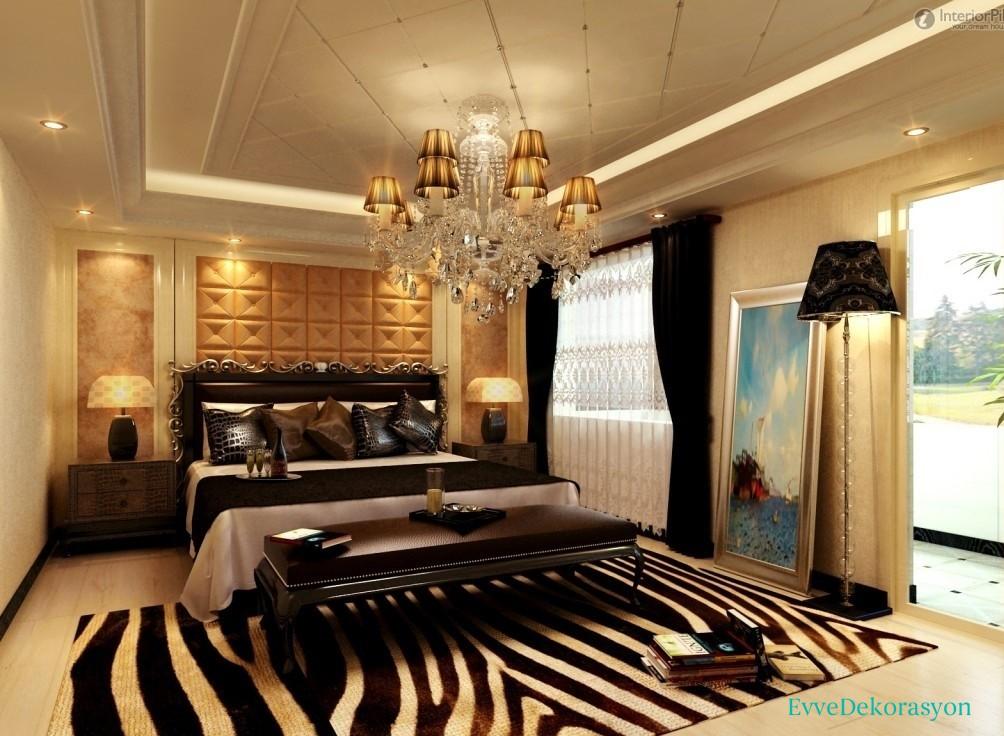 Yatak Odası Avize Stili