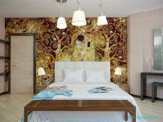Ağaç motifli duvar kağıdı