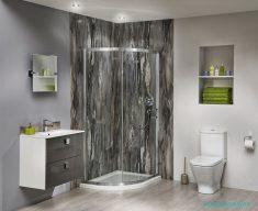 Duvar Kağıdı İle Banyo Panelleri
