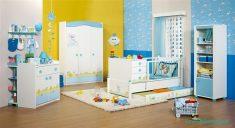 Mavi Renk Doğtaş Bebek Odaları