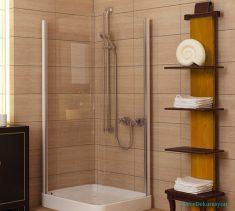 Açık Kahverengi Banyo Duvarı
