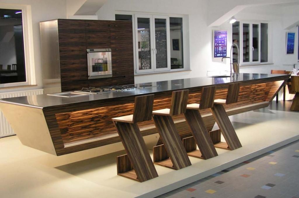 Açık Bar Mutfak Dizaynı Ve Modelleri