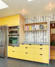 Ağaç Desenli Mutfak Duvar Kağıdı Fikirleri