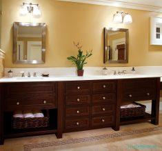 Ahşap Banyo Dolap Tasarımları