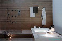 Ahşap Banyo Dekorasyonu