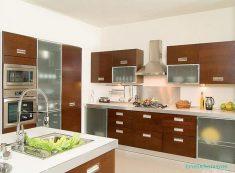 Ahşap Mutfak Dolap Tasarımları