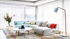 Açık Renk Bohem Tarzı Evler