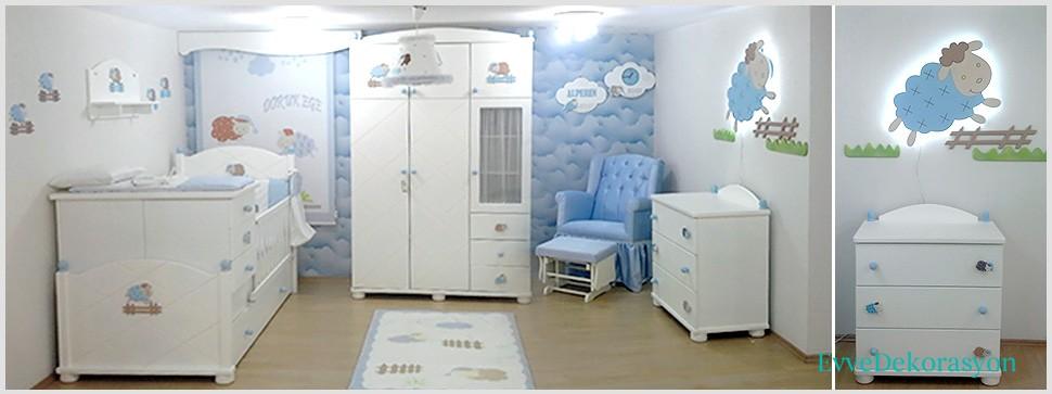 Hayvan Figürlü Bebek Odaları