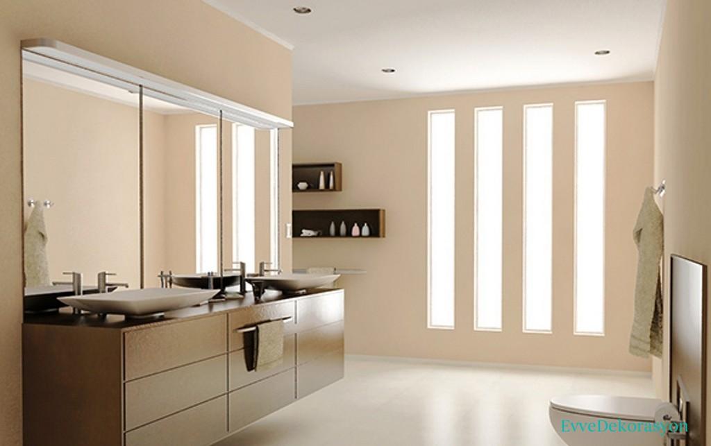 Ayna Altı Banyo Dolap Tasarımları