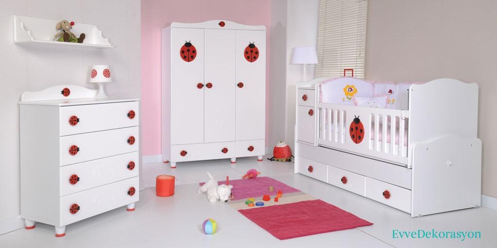 Uğur Böceği Temalı Bebek Odası
