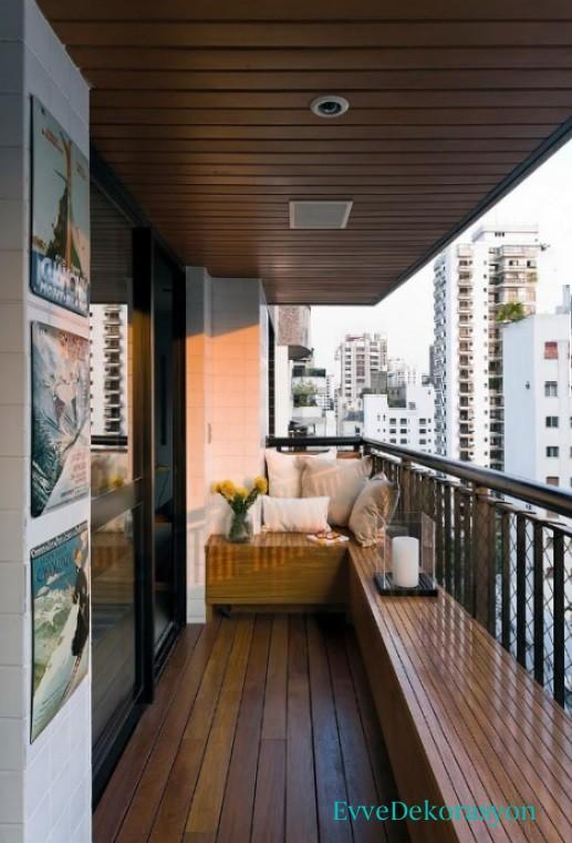 Balkonlarda Divan Stili