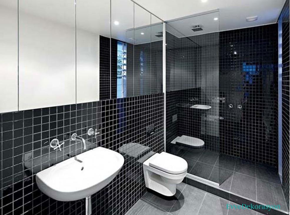Banyolarda klozet se imleri ve modelleri ev dekorasyonu Bathroom tiles design in kerala