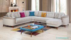 Açık Renkli Modern Ve Lüks Salonlar