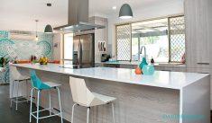 Beyaz Mavi Konsept Mutfak Renk Modelleri Ve Uyumu