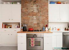 Küçük Mutfak Duvar Dekorasyonu