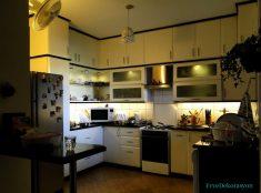 Beyaz Mutfak Dolapları Modüler Tasarımlar