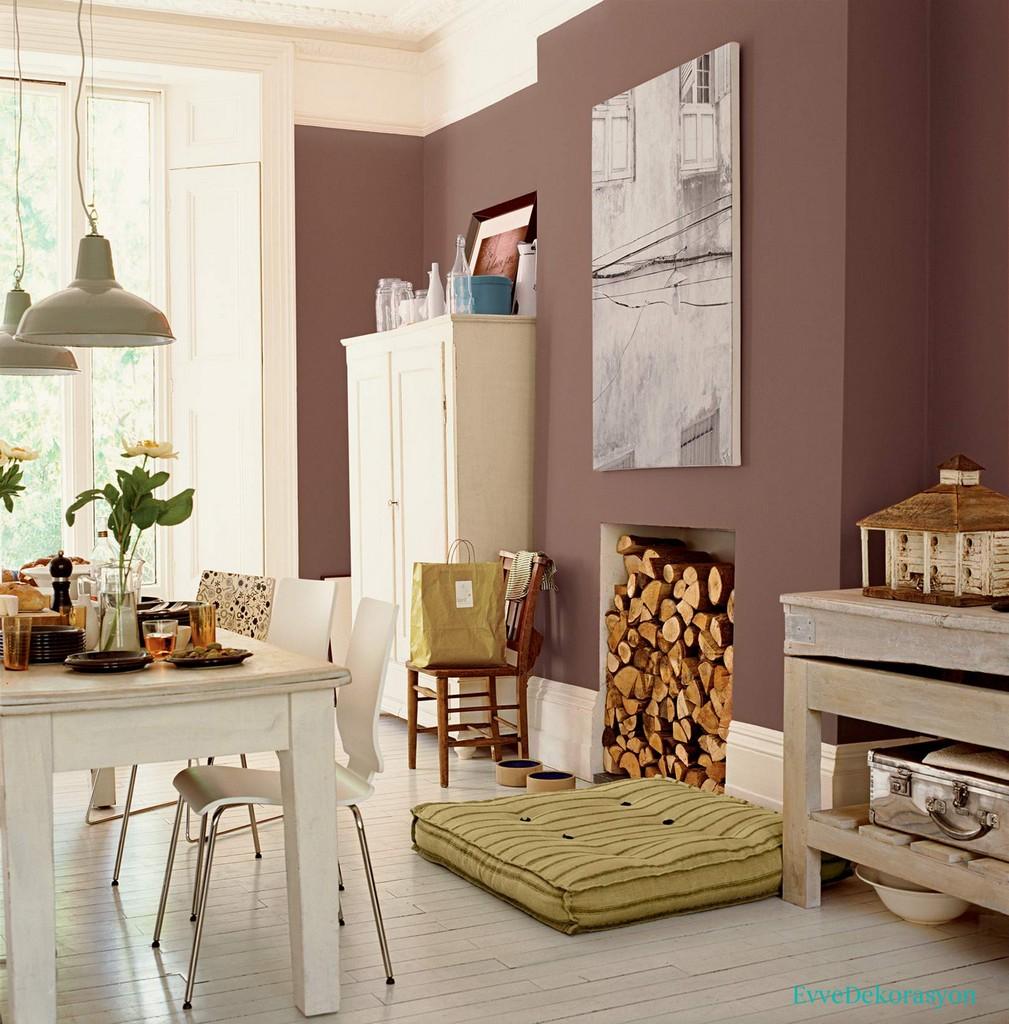 Salonlarda Uyumlu Renk Kullanımı
