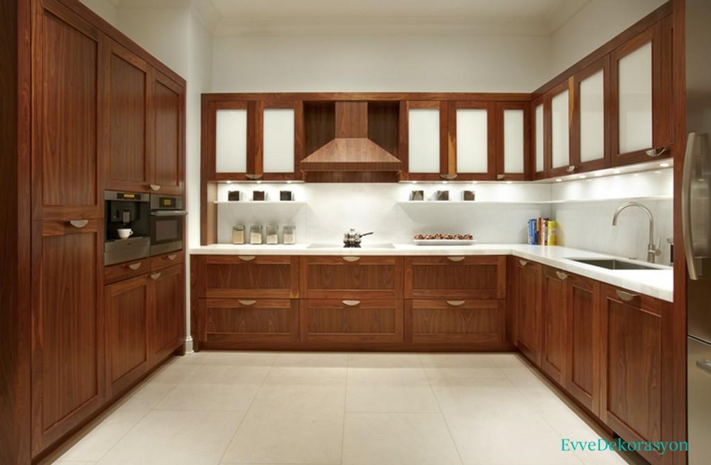 Boydan Boya Mutfak Mobilyası