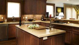 Mutfaklar İçin Ahşap Dolaplar