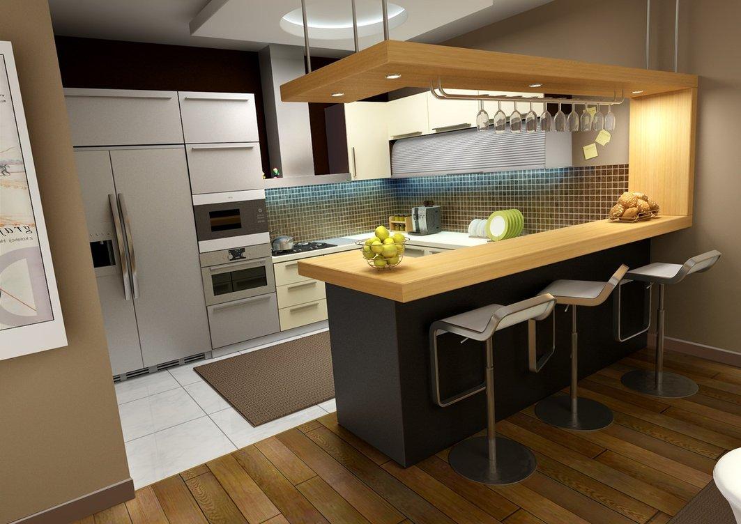 Küçük Mutfak Modern Dizaynlar