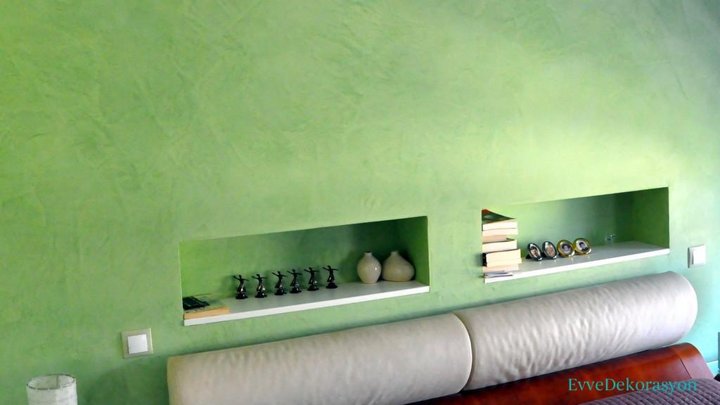 Evlerde Yeşil İle Uyumlu Dekorasyon