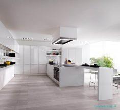 Beyaz Mutfak Dekorasyon Fikirleri