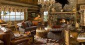 Rustik Salon Dekorasyonu İle Doğal Güzellik