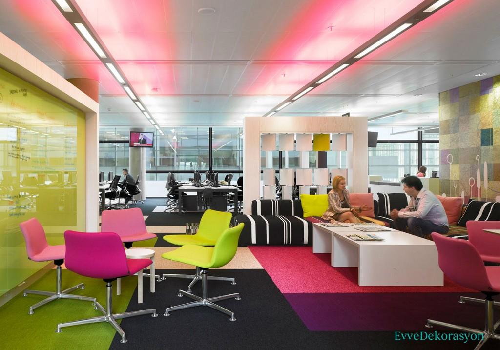 Çalışan Verimini Artıran Ofisler