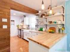 Açık Tezgah Mutfak Modelleri