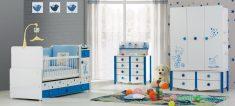 Mavi Erkek Bebek Dekorasyonu