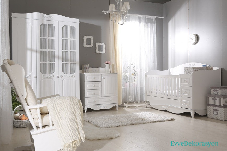 erol mobilya country bebek odas ev dekorasyonu. Black Bedroom Furniture Sets. Home Design Ideas