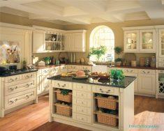Amerikan Ahşap Mutfak Dolabı Modelleri