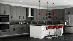 Gri Renk Mutfak Fikirleri Ve Tasarımalrı