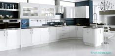 Mutfak Dolaplarında Farklı Stiller