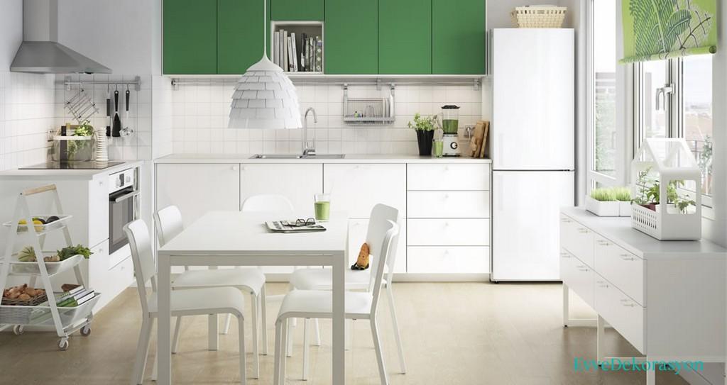 İkea'da Birbirinden Şık Hazır Mutfak Modelleri