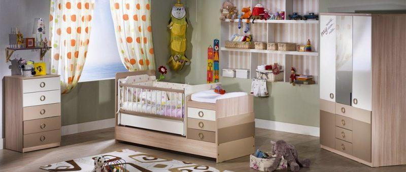 Bebek Odası Dekorasyonu Ve Mobilyaları