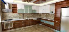 Mutfak Dolaplarında Zengin Renkler