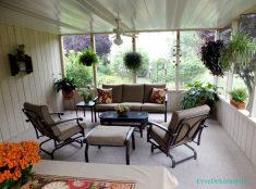 Balkonunuzu Tıpkı Oturma Odalarınız Gibi Şık Bir Dekorasyonla Süsleyebilirsiniz.