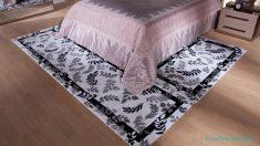 Kaşmir Yatak Odası Halı Modelleri