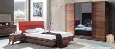 Doğal Ceviz Ağacı Yatak Odası Takımı