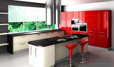 Kırmızı Mutfak Fikirleri