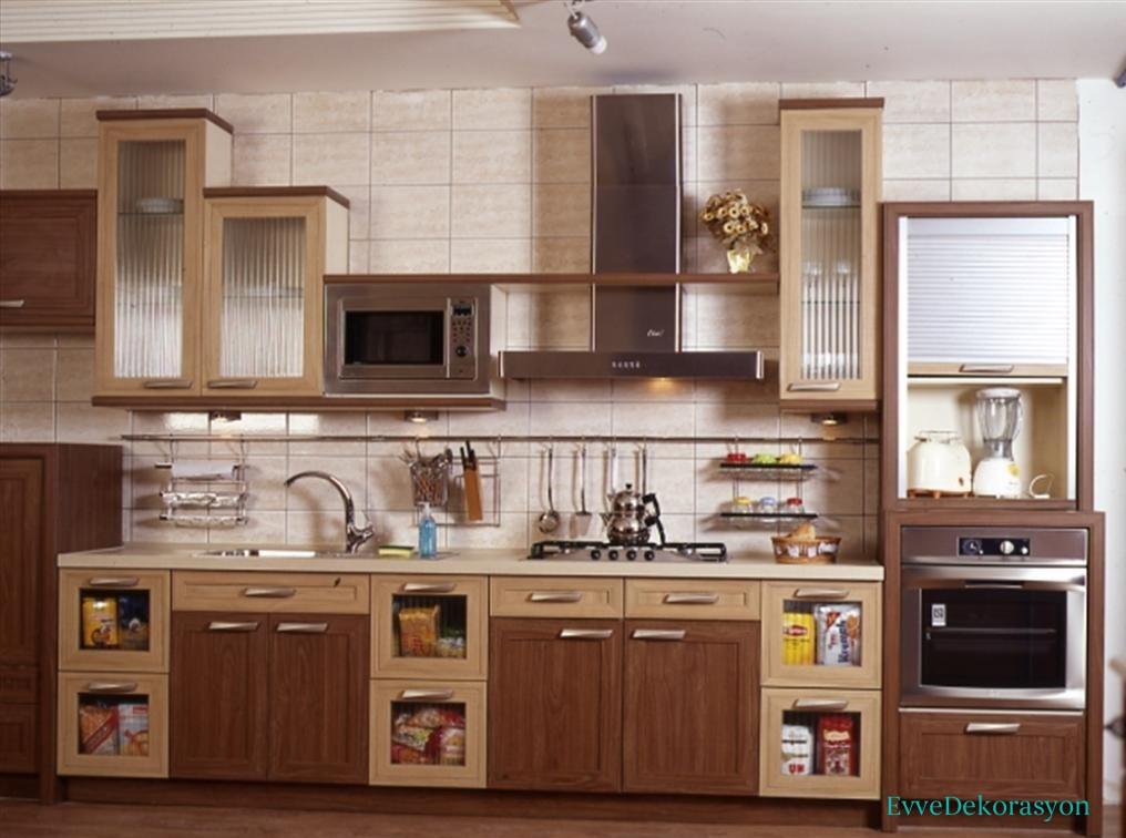 Klasik Mutfak Dolap Tasarımı