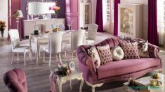 Bej, Krem ve Kemik Rengi Klasik Salonlar